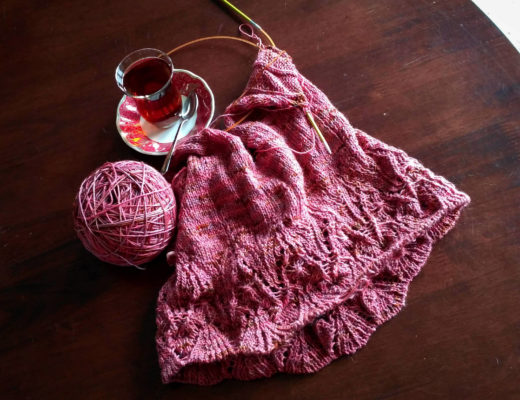 knitting lydia tank