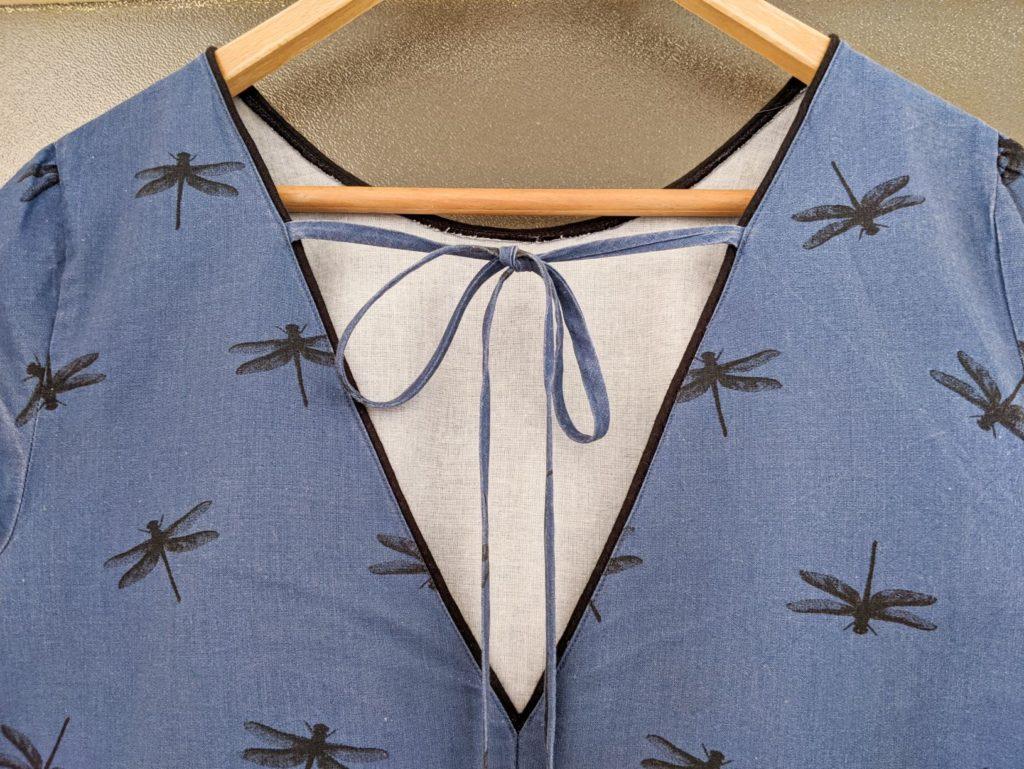 šaty Kenedy Seamwork výstřih na zádech