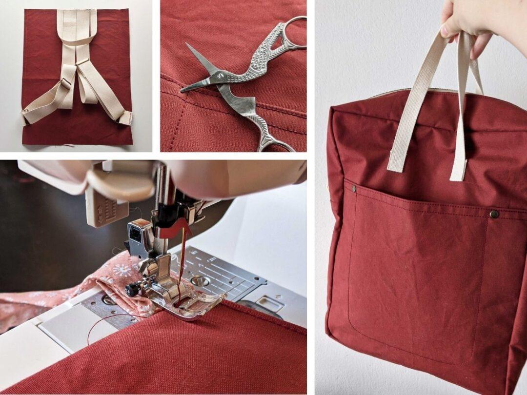 šití batohu doma